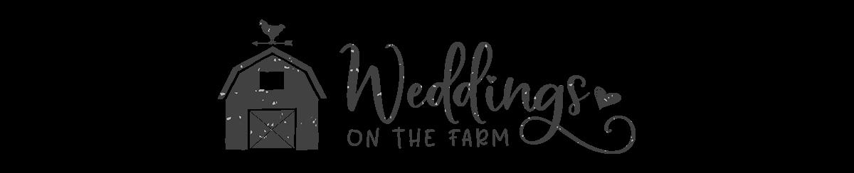 Barn logo for WEddings on the farm at Flamig Farm