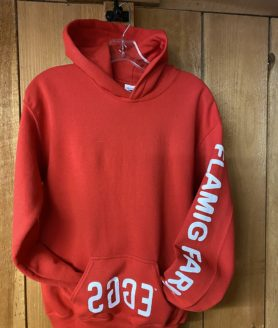 Flamig Farm Red Hoodie Sweatshirt