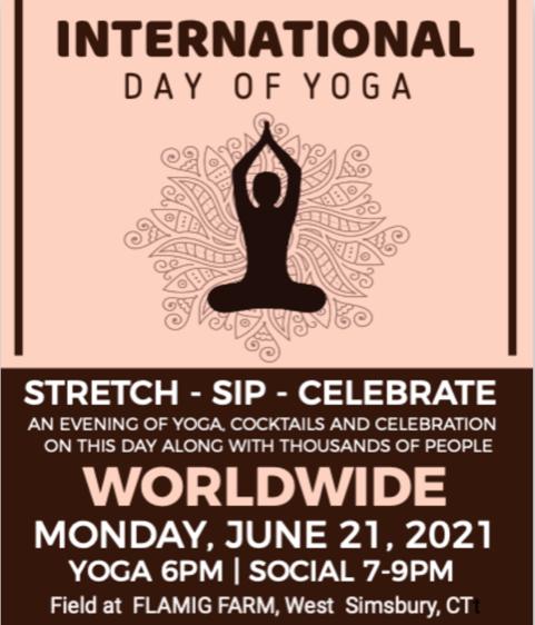 International Day of Yoga at Flamig Farm